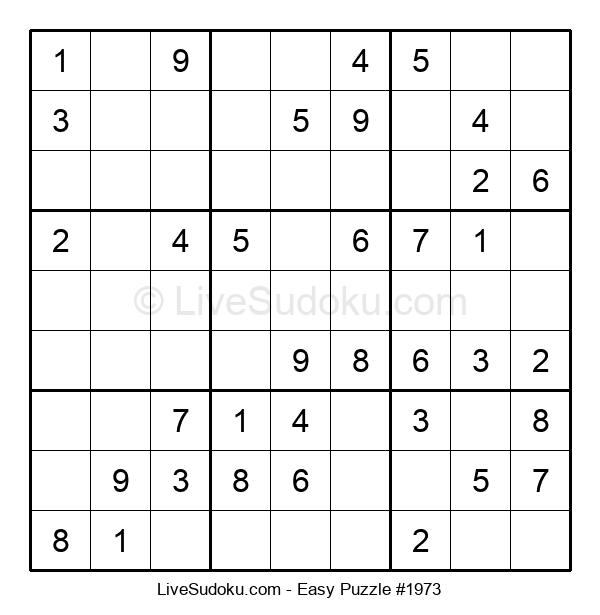 Beginners Puzzle #1973