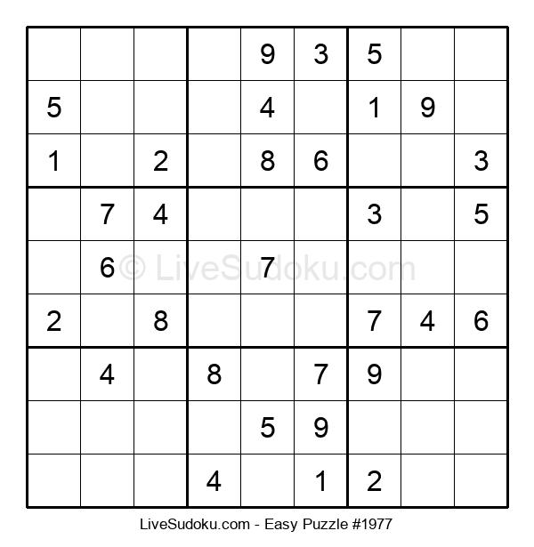 Beginners Puzzle #1977
