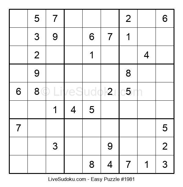 Beginners Puzzle #1981