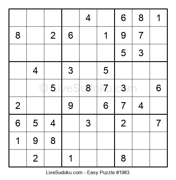 Beginners Puzzle #1983