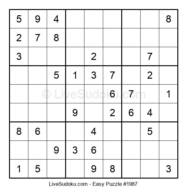 Beginners Puzzle #1987