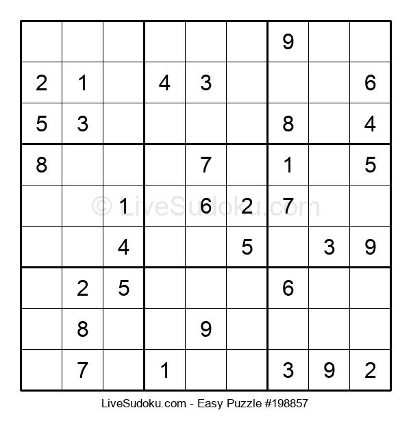 Beginners Puzzle #198857