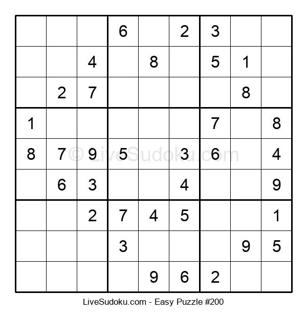 Beginners Puzzle #200