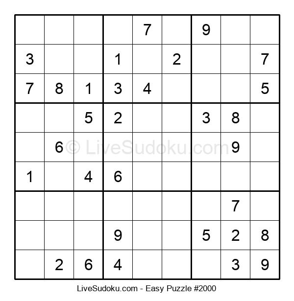 Beginners Puzzle #2000