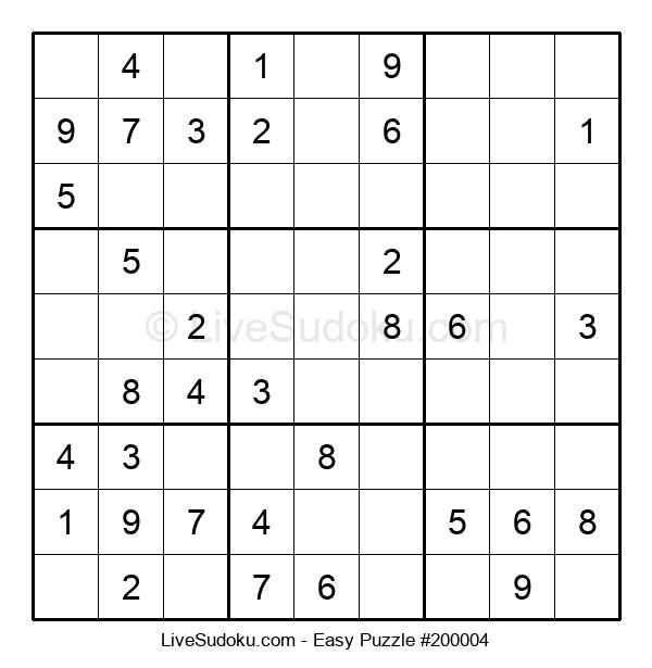Beginners Puzzle #200004
