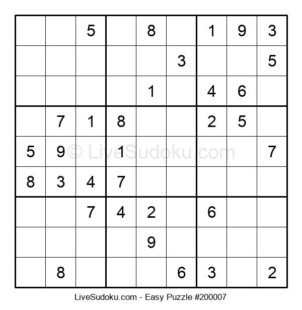 Beginners Puzzle #200007