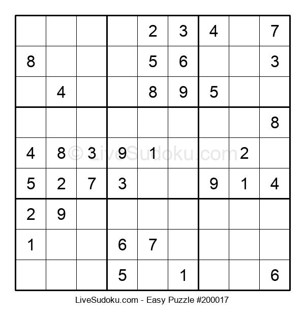 Beginners Puzzle #200017