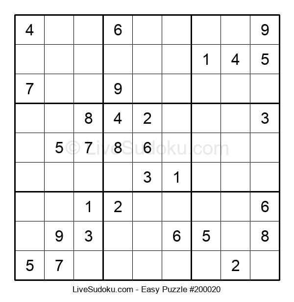 Beginners Puzzle #200020