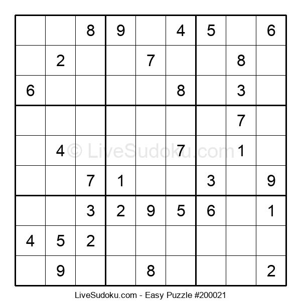 Beginners Puzzle #200021