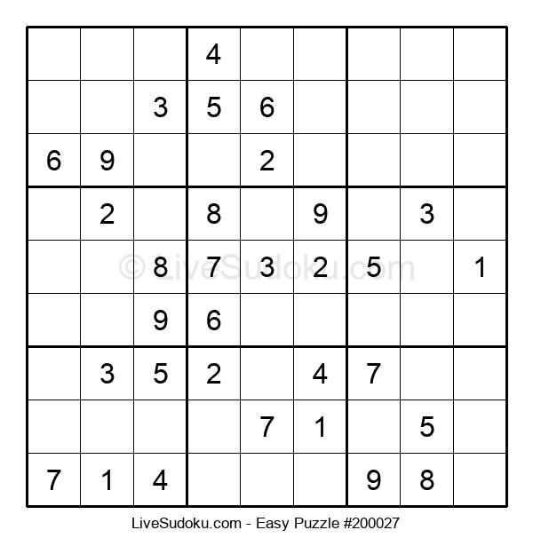 Beginners Puzzle #200027