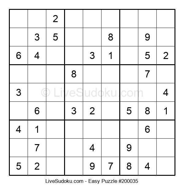 Beginners Puzzle #200035