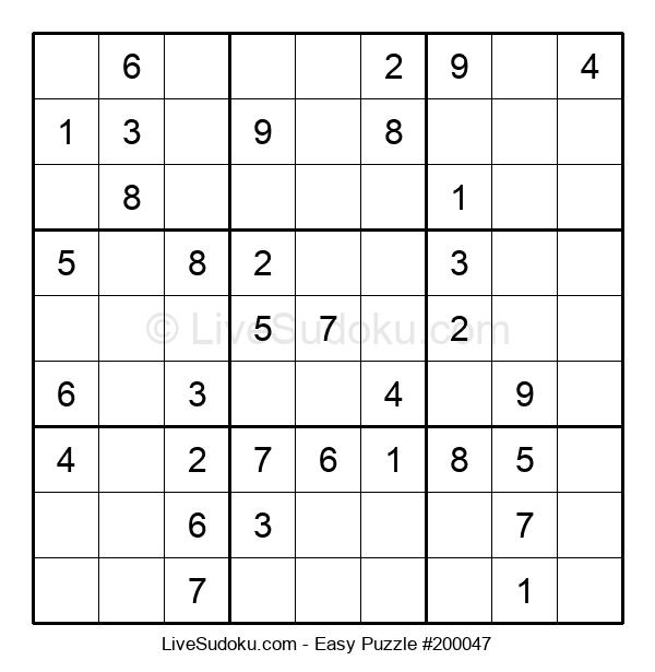 Beginners Puzzle #200047