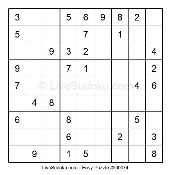 Beginners Puzzle #200074