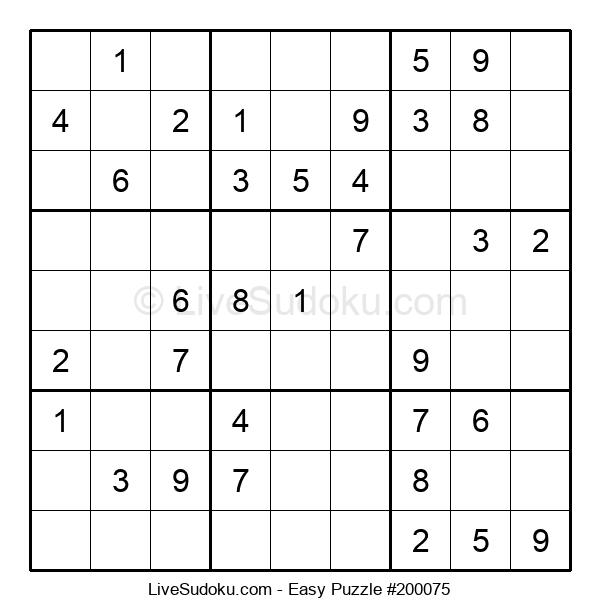 Beginners Puzzle #200075