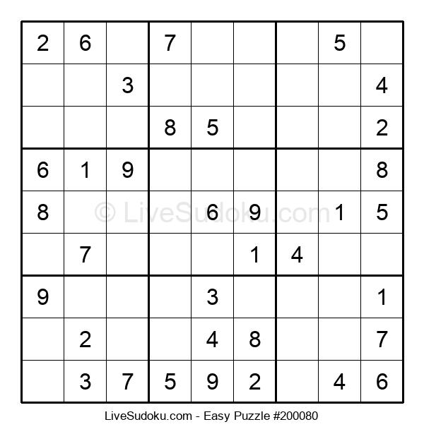 Beginners Puzzle #200080