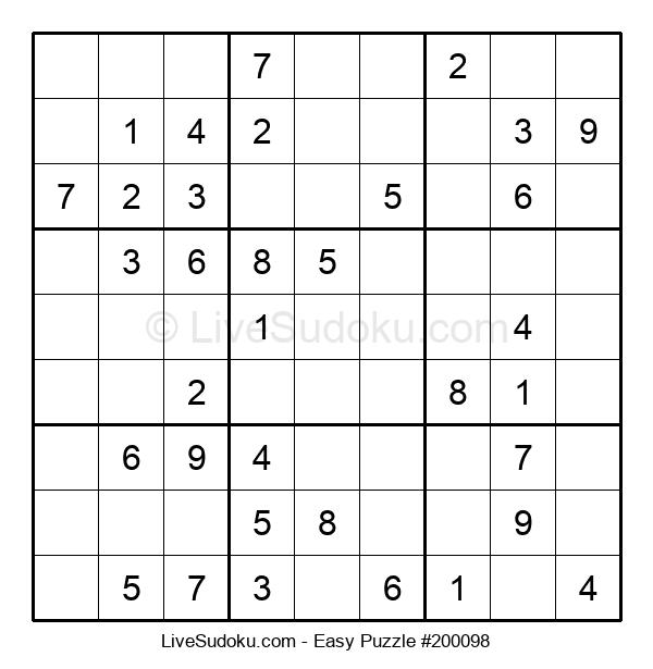 Beginners Puzzle #200098