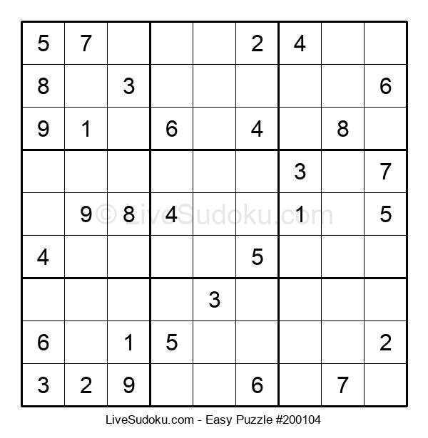 Beginners Puzzle #200104