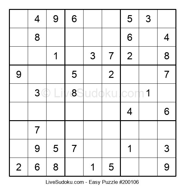 Beginners Puzzle #200106