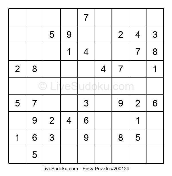 Beginners Puzzle #200124