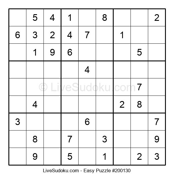 Beginners Puzzle #200130