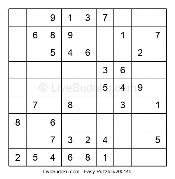Beginners Puzzle #200145