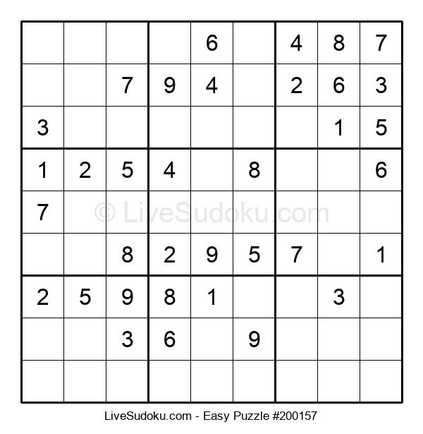 Beginners Puzzle #200157
