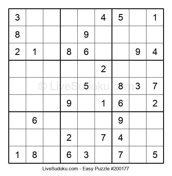 Beginners Puzzle #200177