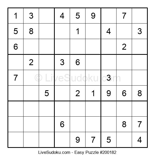 Beginners Puzzle #200182