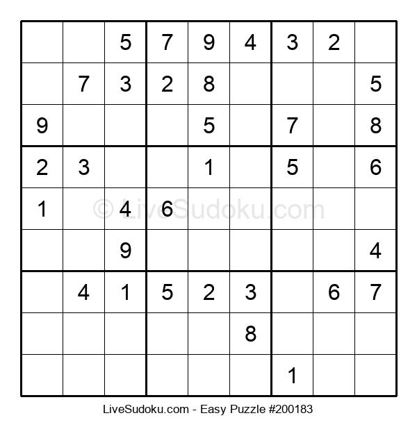 Beginners Puzzle #200183