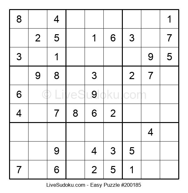 Beginners Puzzle #200185