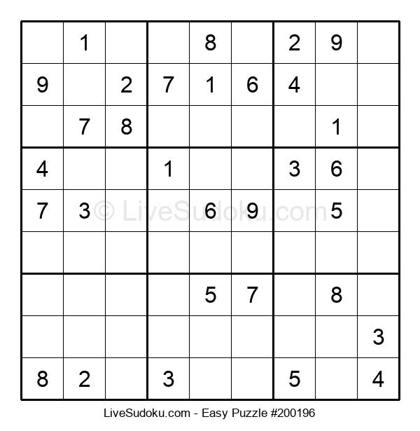 Beginners Puzzle #200196