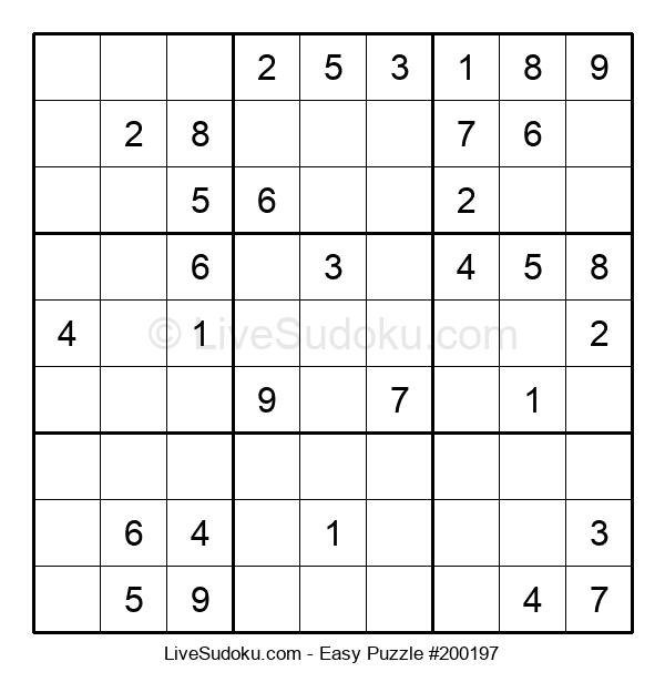 Beginners Puzzle #200197