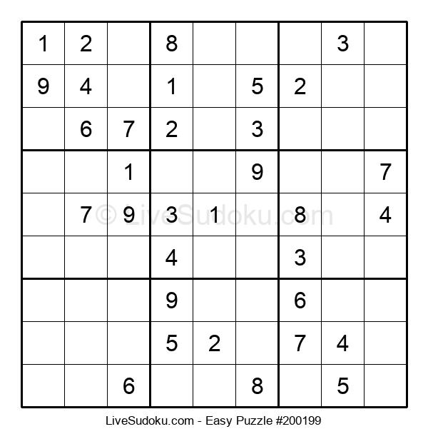 Beginners Puzzle #200199