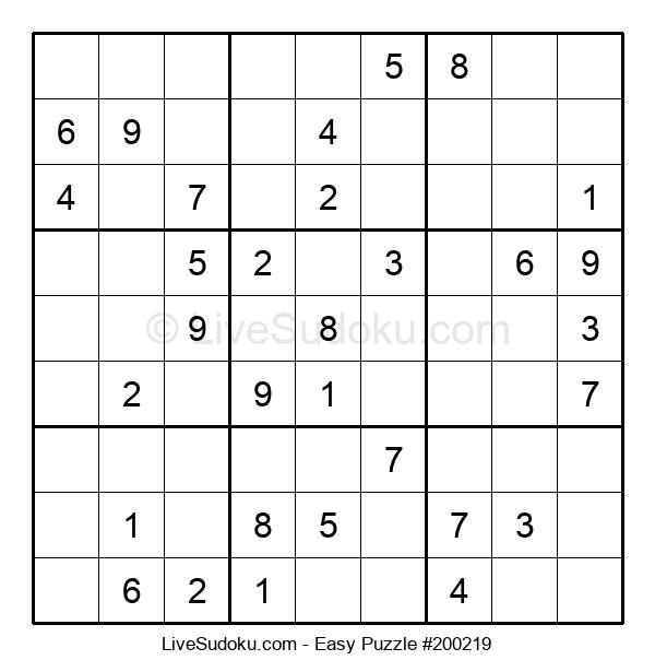 Beginners Puzzle #200219