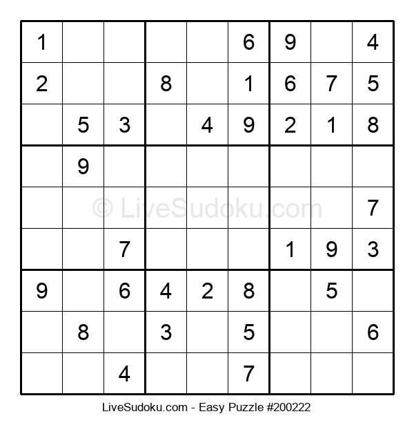 Beginners Puzzle #200222