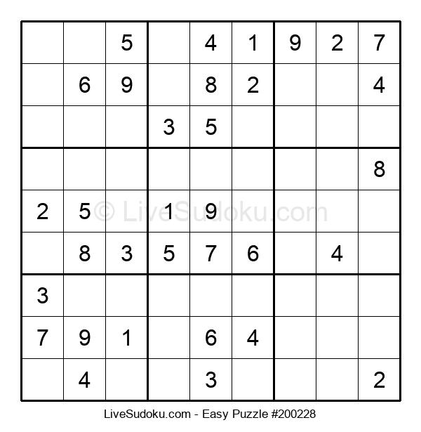 Beginners Puzzle #200228