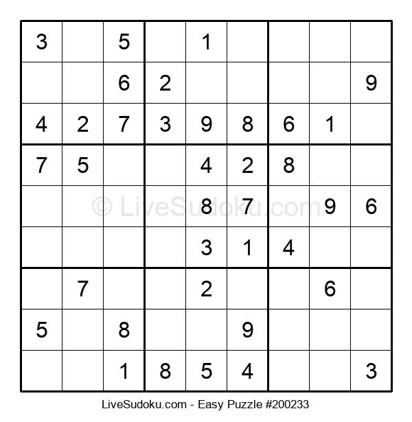 Beginners Puzzle #200233