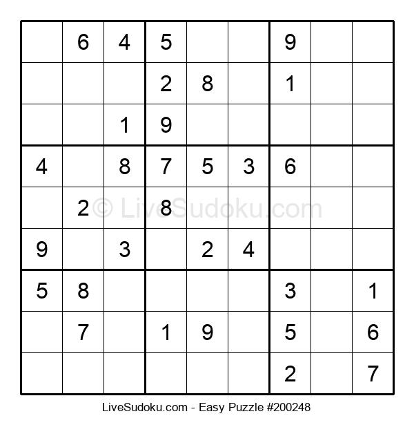 Beginners Puzzle #200248