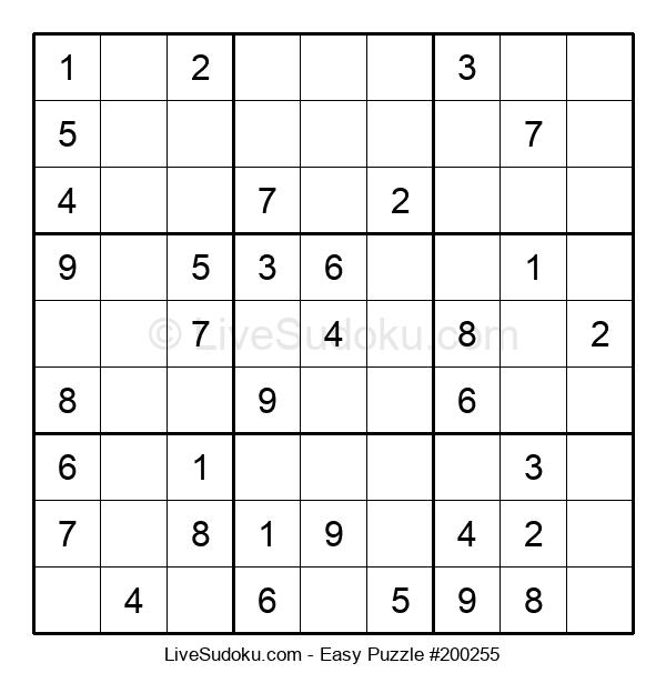 Beginners Puzzle #200255