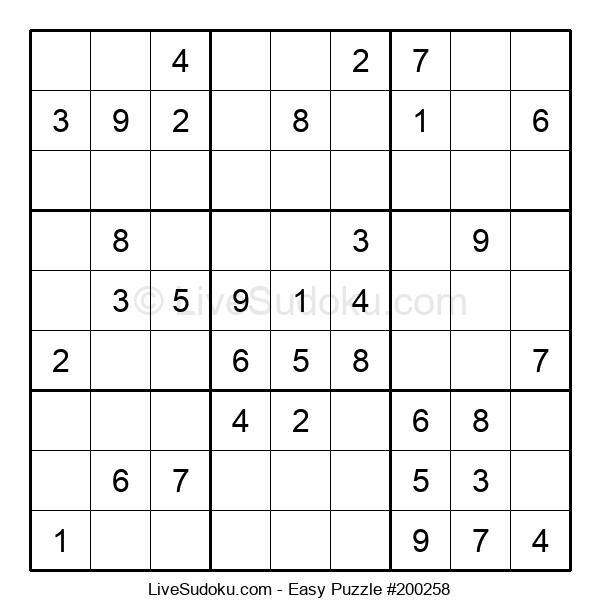 Beginners Puzzle #200258