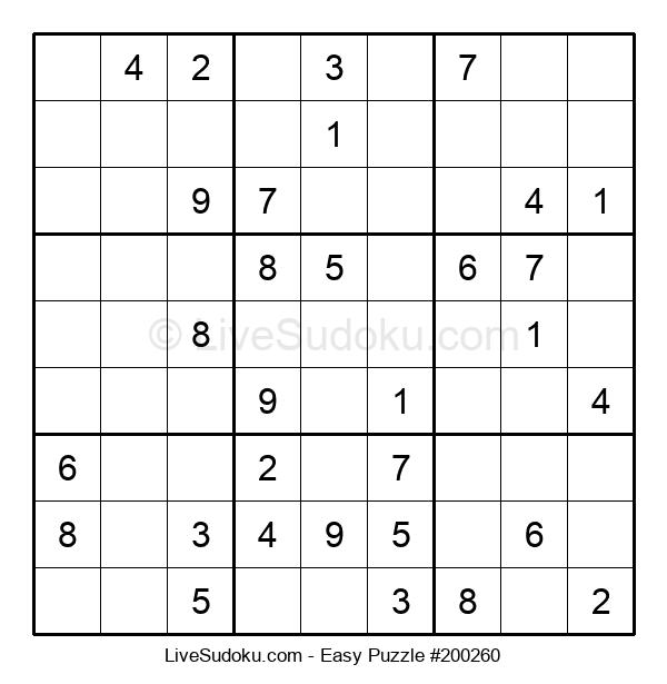 Beginners Puzzle #200260
