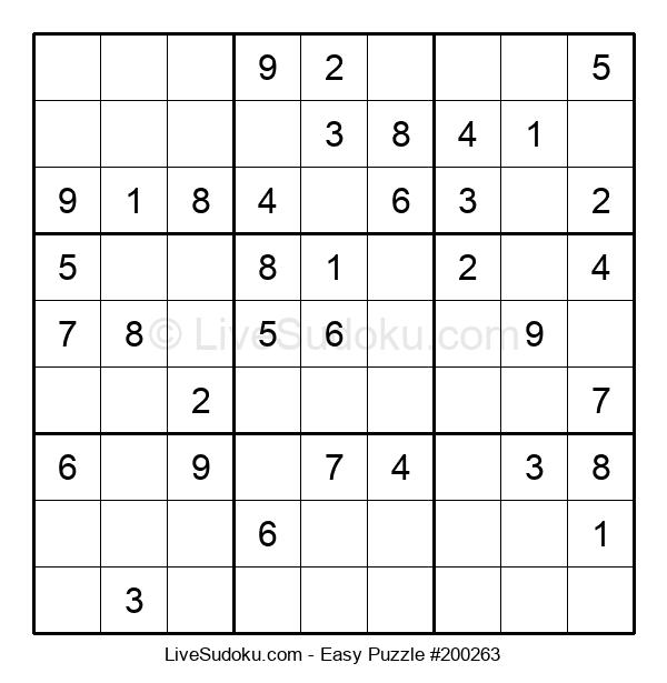Beginners Puzzle #200263