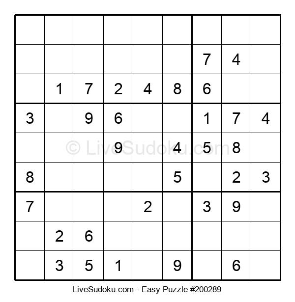 Beginners Puzzle #200289