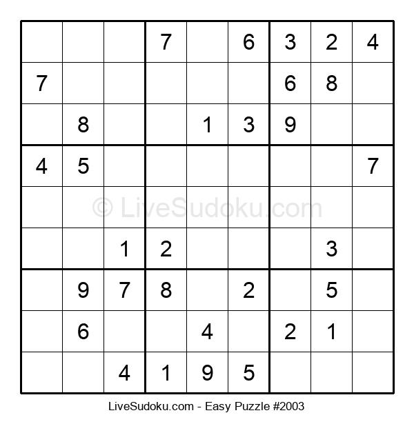 Beginners Puzzle #2003