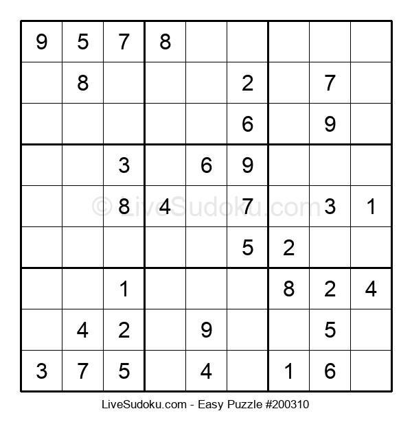 Beginners Puzzle #200310