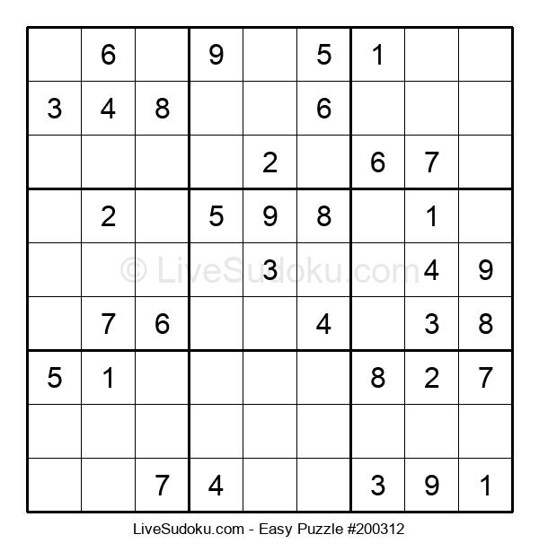Beginners Puzzle #200312