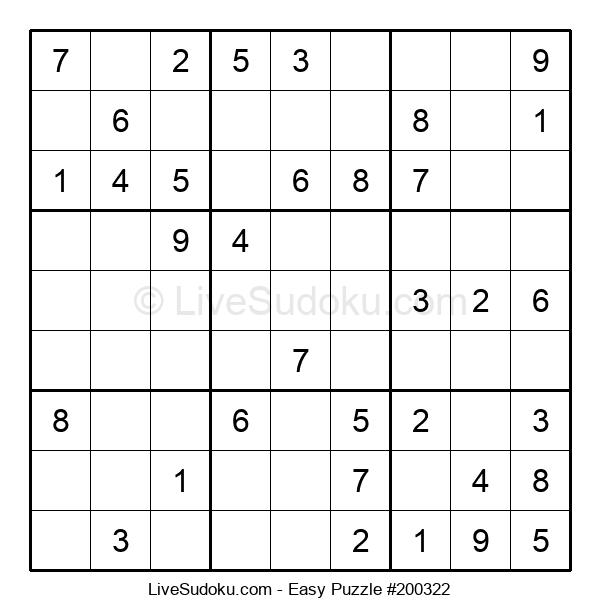 Beginners Puzzle #200322