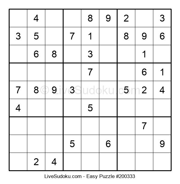 Beginners Puzzle #200333