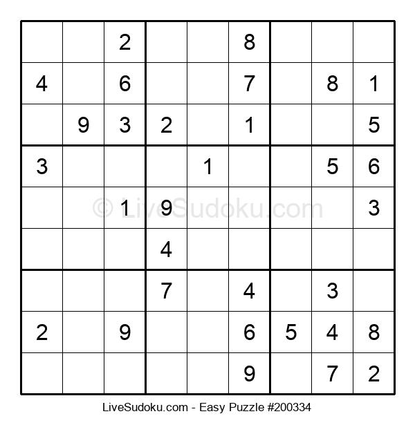 Beginners Puzzle #200334