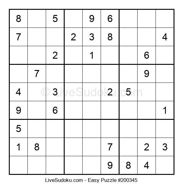 Beginners Puzzle #200345